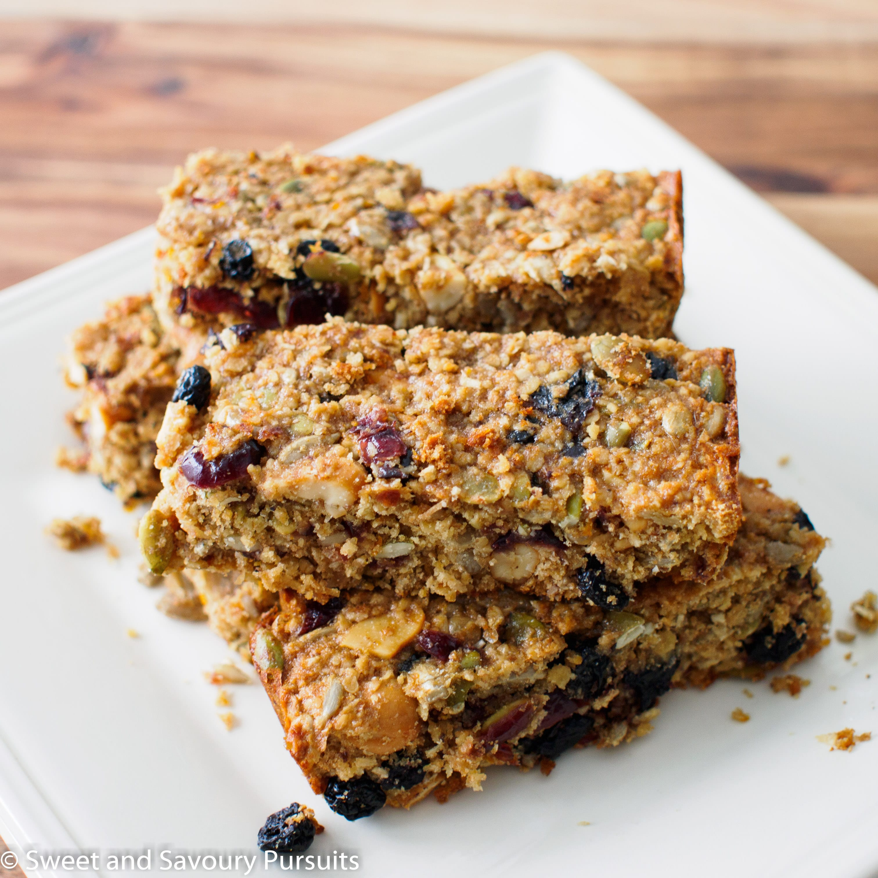 Oat, Fruit and Seed Bars