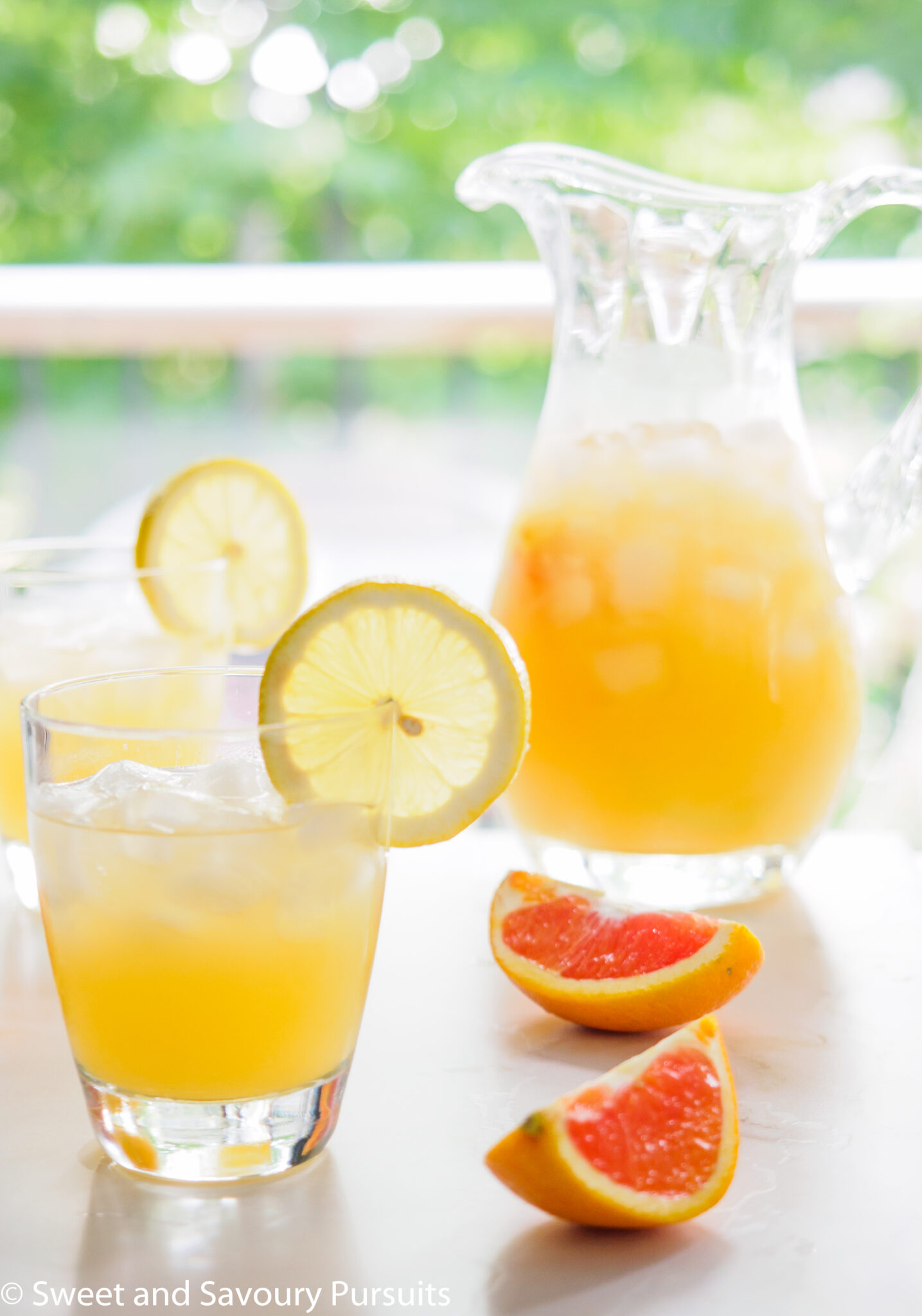 Cara Cara Orange and Citrus Drink