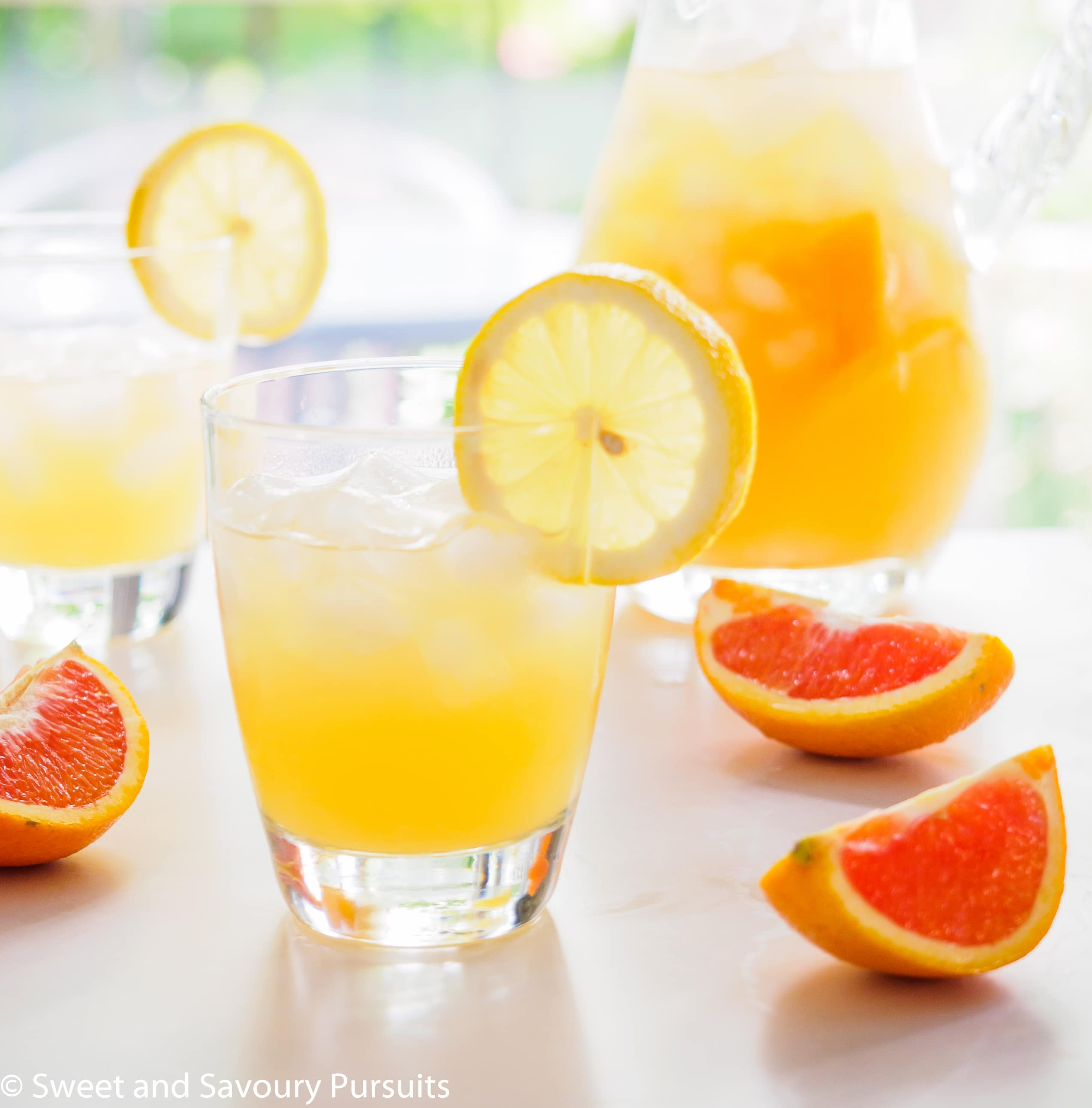 Cara Cara Orange Citrus Drink