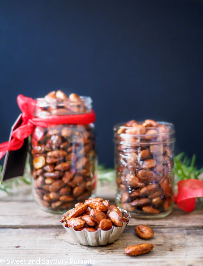 Rosemary Spiced Roasted Almonds – Sweet and Savoury Pursuits
