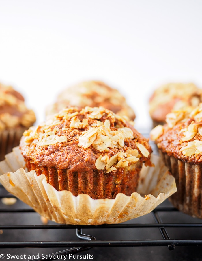 Whole Wheat Carrot Muffins