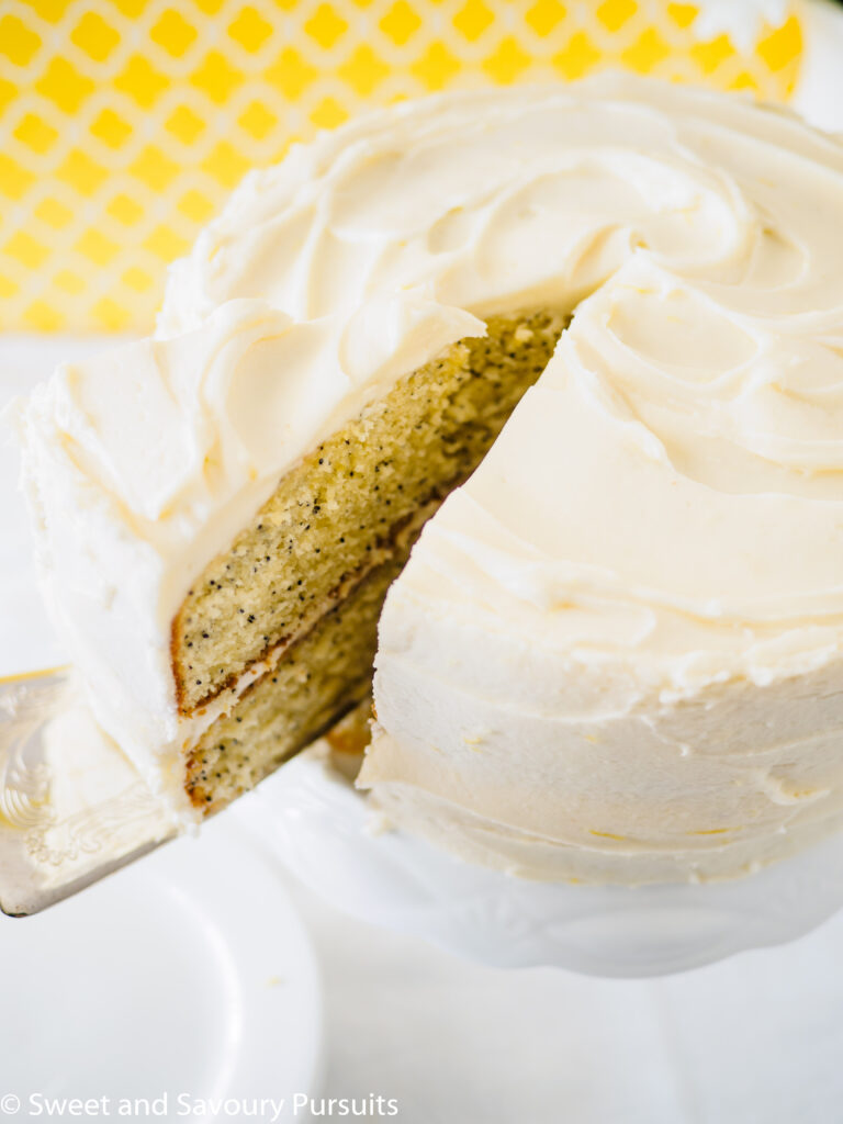 Best Moist Lemon Poppy Seed Cake